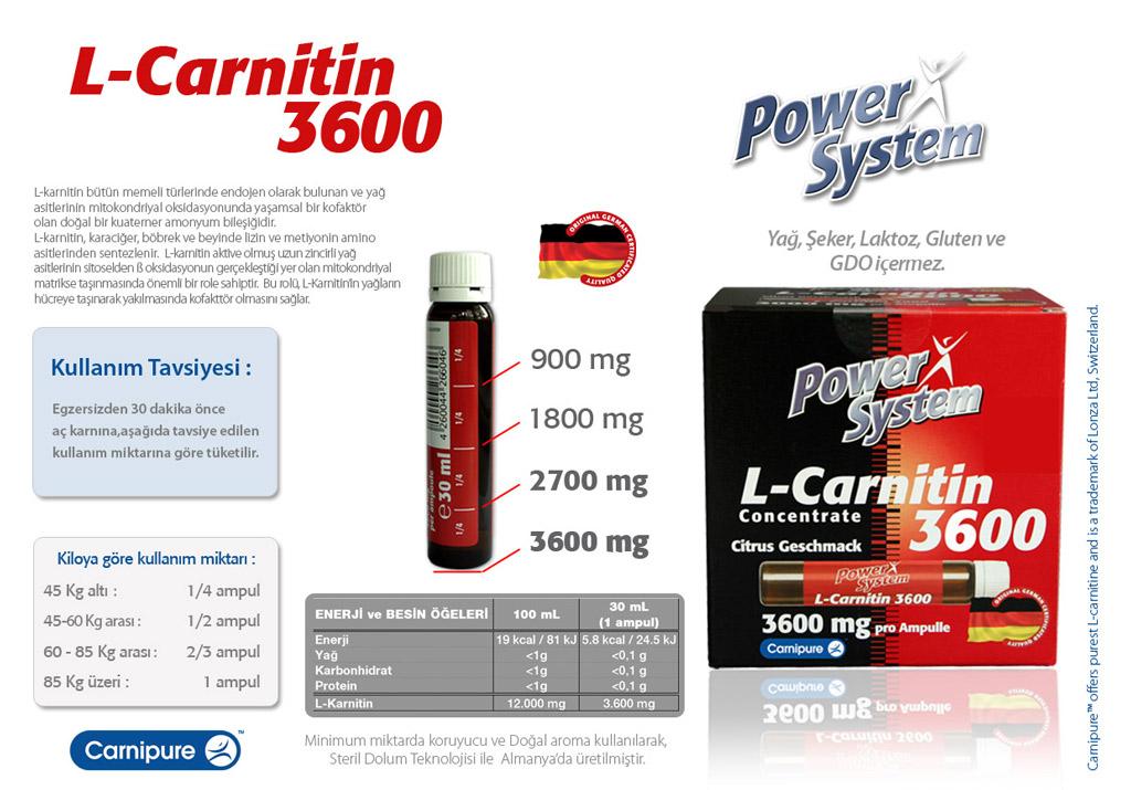 داروی ال کارنیتین (L-carnitine)