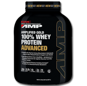 پروتئین وی گلد 100 % GNC -GNC Amplified Gold 100% Whey Protein