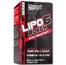 لیپو 6 بلک اولترا کنستانتره نوترکس-Lipo 6 Black Ultra Concentrate Nutrex