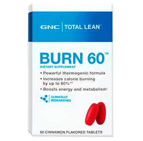 چربی سوز برن 60 جی ان سی-GNC Total Lean Burn 60